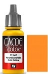 007 Gold Yellow Vallejo Game Color Paint