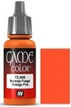 009 Hot Orange Vallejo Game Color Paint