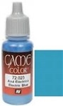 023 Electric Blue Vallejo Game Color Paint