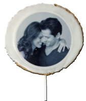 Round Photo cookies, Logo Cookies