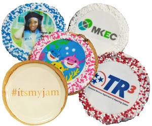 "2.5"" Round Logo Sugar Cookies (ASI ONLY)"