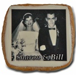 "2"" Square Photo/Logo Cookies, dozen"