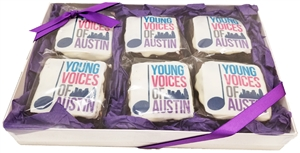 Brownies - Logo, Gift Box of 6