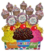 Cake Pops - Birthday Bouquet of 10