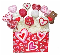 Cake Pops - Valentine's Day Bouquet of 12