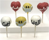 Cake Pops -  Get Well, Box of 6