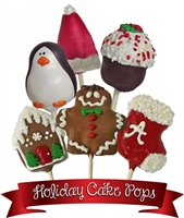 Cake Pops Assorted Holiday, EA