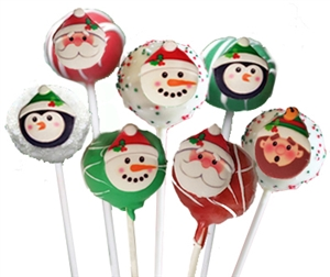 Cake Pops Holiday Characters