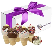 Cake Pops - Ice Cream Cone, Gift Box of 6