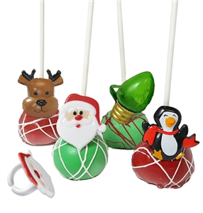 Cake Pops Party Rings, Christmas