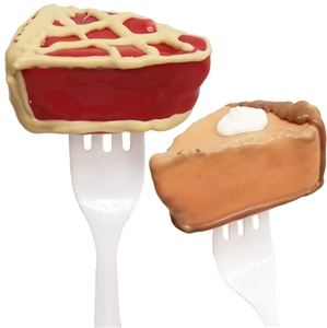 Cake Pops - Pie Slice on Fork