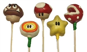 Cake Pops - Mario Brothers, EA