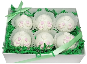 Cake Truffles Bunny Tails, Gift Box of 6