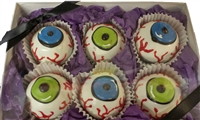 Cake Truffles Eyeballs, Gift Box of 6