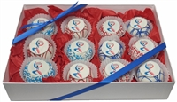 Logo Cake Truffles - Gift Box of 12