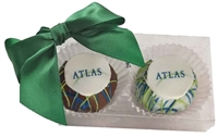 Cake Truffles - Logo, Gift Box of 2