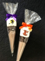 Halloween Hot Chocolate Marshmallow Cones, set of 6
