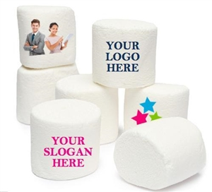 Marshmallows - Custom Image or Logo, Jumbo