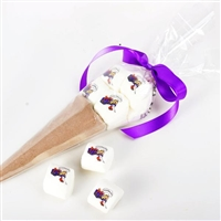 Hot Chocolate Marshmallow Cone - Custom Logo