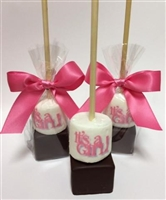 Hot Chocolate Sticks - Baby Shower