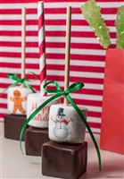 Hot Chocolate Sticks - Custom Holiday Designs