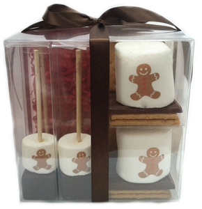 S'mores & Hot Chocolate Gift Set - Custom Holiday Design