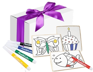 Color Your Own Cookies, Gift Box of 12