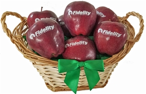 Fidelity Branded Fruit Gift Basket of 12, each