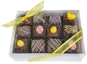 Brownie Bites - Easter Designs Gift Box of 12