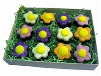 Flower Brownie Bites Gift Box of 12