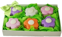 Flower Brownie Bites Gift Box of 6
