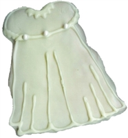 Hand Dec. Cookies - Baptism Dress/Suit