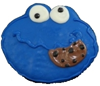 decorated Cookies Cookie Monster