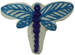 decorated Cookies Dragonfly