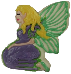 Hand Dec. Cookies - Fairy (Tinkerbell)