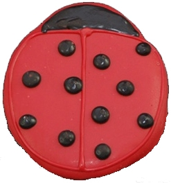 Hand Dec. Cookies - Lady Bug