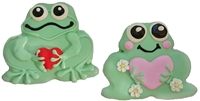 Hand Dec. Cookies - Love Frogs, set of 4