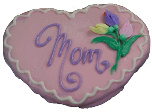 Hand Dec. Cookies - Mom's Heart