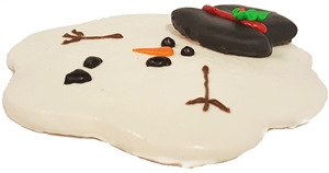 Hand Dec. Cookies - Melted Snowman