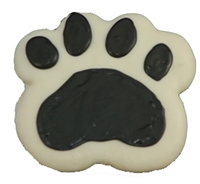 Hand Dec. Cookies - Paw Print