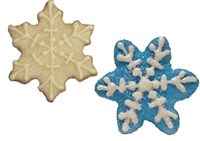 Hand Dec. Cookies - Snowflake