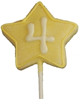 Hand Dec. Cookies - Star Wand Pop