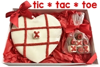 Hand Dec. Tic-Tac-Toe Cookie Gift Box