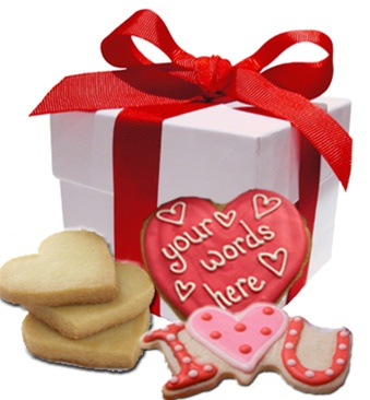 Valentine S Day Cookie Gift Box Personalized