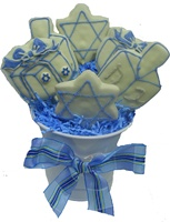 Hand Dec. Chanukkah Cookie Gift