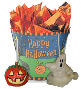 Krispie Treats Halloween Gift Pail