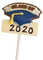 Hand Painted Chocolate Pops Class of 2020