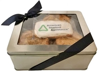 Logo Cookies - Assorted Flavors Gift Tin, One Logo Cookie