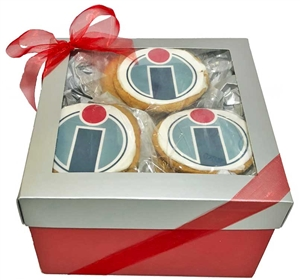 Logo Sugar Cookies - Gift Box of 12 (ASI ONLY)