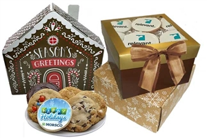 Logo Sugar Cookies - Holiday Gift Box of 12 (ASI ONLY)